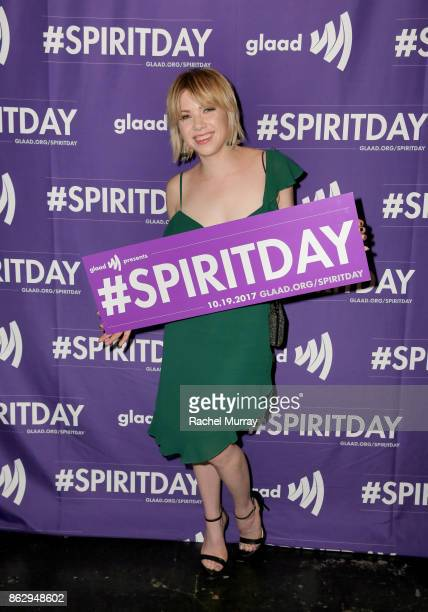 Carly Rae Jepsen at Justin Tranter And GLAAD Present 'Believer' Spirit Day Concert at Sayer's Club on October 18 2017 in Los Angeles California