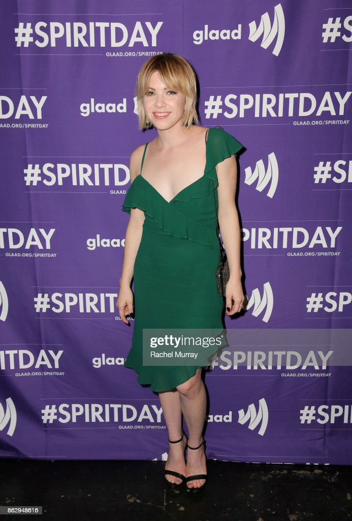 Carly Rae Jepsen at Justin Tranter And GLAAD Present 'Believer' Spirit Day Concert at Sayer's Club on October 18, 2017 in Los Angeles, California.