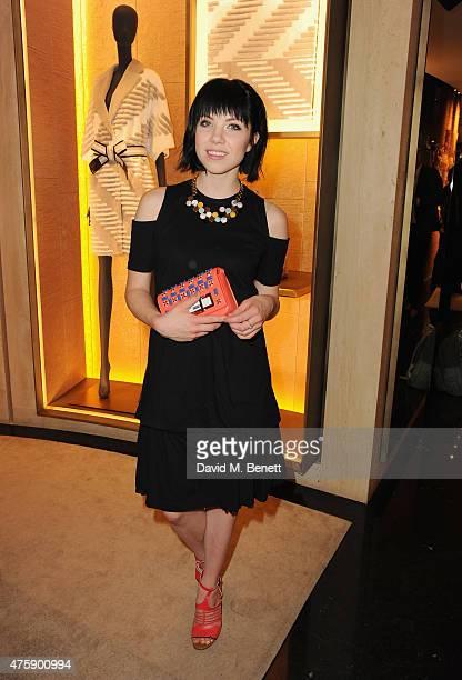 Carly Rae Jepsen attends as FENDI New Bond Street celebrates their 1st anniversary on June 4 2015 in London England