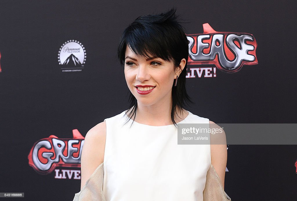 Carly Rae Jepsen attends the For Your Consideration event for FOX's 'Grease Live' at Paramount Studios on June 15 2016 in Los Angeles California