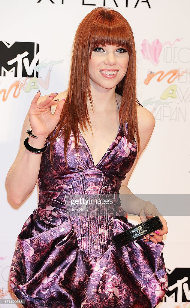 Carly Rae Jepsen attends the MTV Video Music Awards Japan 2013 at Makuhari Messe on June 22, 2013 in Chiba, Japan.