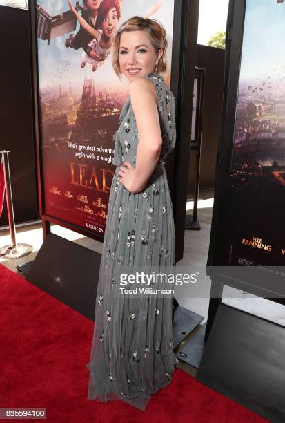 Carly Rae Jepsen attends the premiere Of The Weinstein Company's 'Leap' at Pacific Theatres at The Grove on August 19 2017 in Los Angeles California
