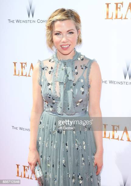 Carly Rae Jepsen attends the premiere of The Weinstein Company's 'Leap' on August 19 2017 in Los Angeles California