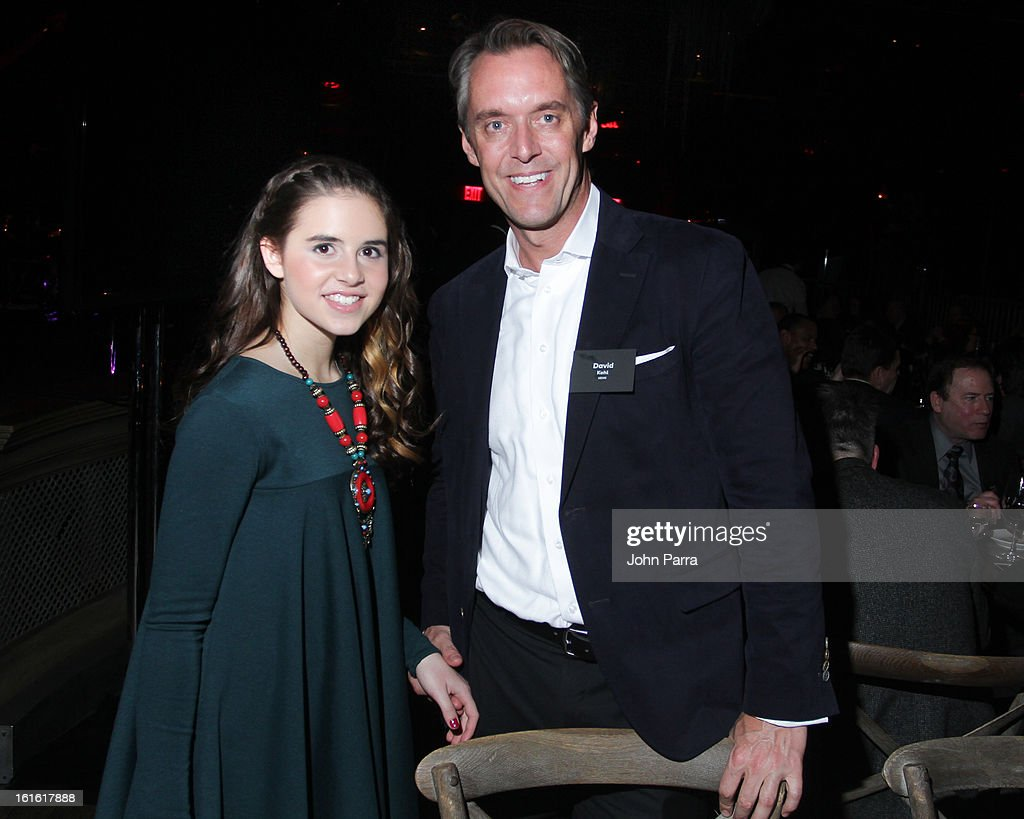 Carly Rose Sonenclar and David Liodice attend the ANA Board Dinner Presented By VEVO at The Darby on February 12, 2013 in New York City.