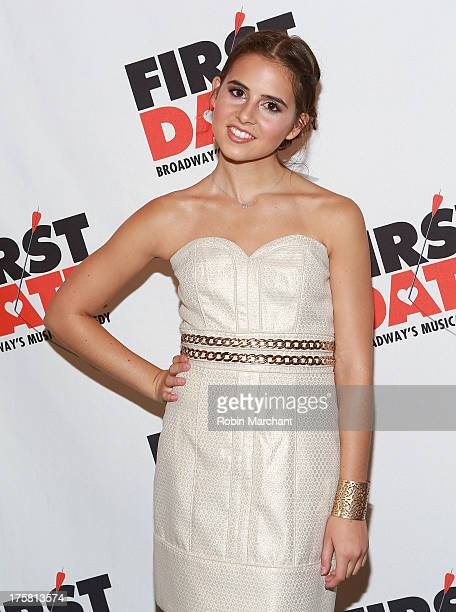 Carly Rose Sonenclar attends 'First Date' Broadway Opening Night at Longacre Theatre on August 8 2013 in New York City