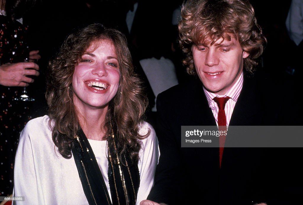 Carly Simon and Al Corley circa 1982 in New York City.