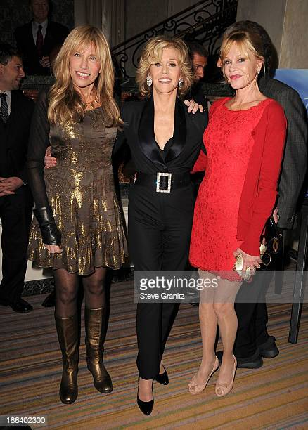 Carly Simon Jane Fonda and Melanie Griffith arrives at the Oceana Partners Award Gala With Former Secretary Of State Hillary Rodham Clinton and HBO...