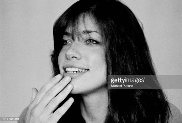 Carly Simon portrait London 1972