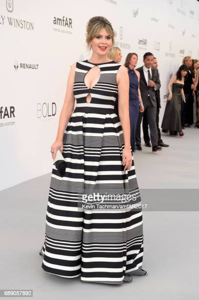 Carly Steel arrives at the amfAR Gala Cannes 2017 at Hotel du CapEdenRoc on May 25 2017 in Cap d'Antibes France