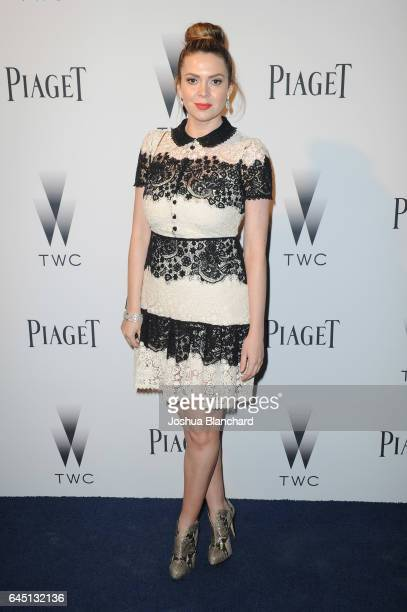 Carly Steel attends a cocktail party to kickoff Independent Spirit Awards and Oscar weekend hosted by Piaget and The Weinstein Company on February 24...