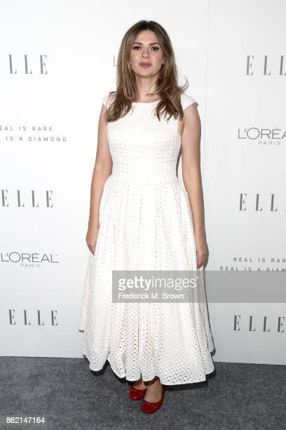 Carly Steel attends ELLE's 24th Annual Women in Hollywood Celebration at Four Seasons Hotel Los Angeles at Beverly Hills on October 16 2017 in Los...
