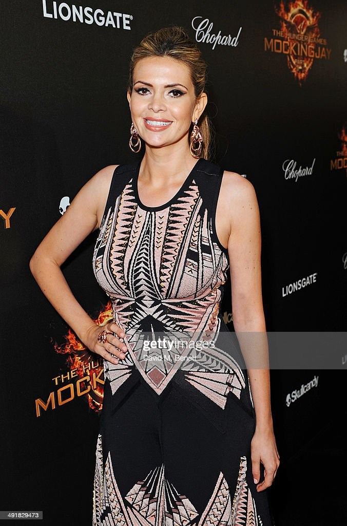 Carly Steel attends Lionsgate's 'The Hunger Games: Mockingjay Part 1' party at a private villa on May 17, 2014 in Cannes, France.