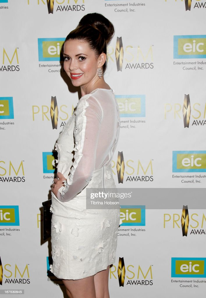 Carly Steel attends the 17th annual Prism Awards at Beverly Hills Hotel on April 25, 2013 in Beverly Hills, California.