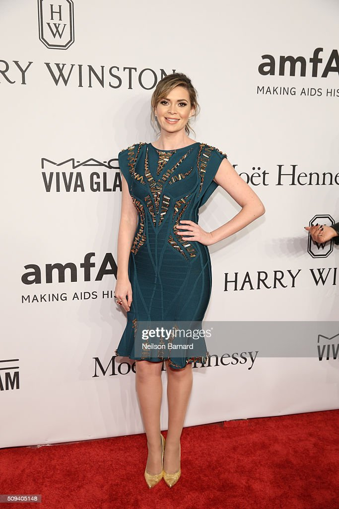 <a gi-track='captionPersonalityLinkClicked' href=/galleries/search?phrase=Carly+Steel&family=editorial&specificpeople=3963749 ng-click='$event.stopPropagation()'>Carly Steel</a> attends the 2016 amfAR New York Gala at Cipriani Wall Street on February 10, 2016 in New York City.