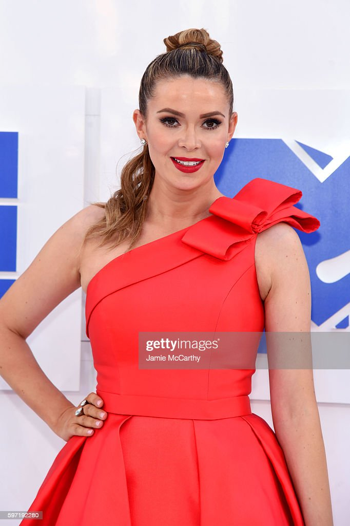 Carly Steel attends the 2016 MTV Video Music Awards at Madison Square Garden on August 28 2016 in New York City