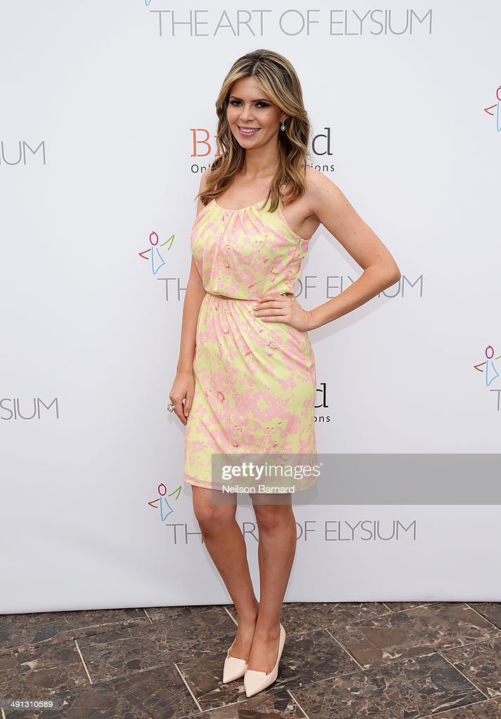 Carly Steel attends the Art of Elysium's 6th Annual PARADIS presented by BidKind during the 67th Annual Cannes Film Festival at Villa St George on...
