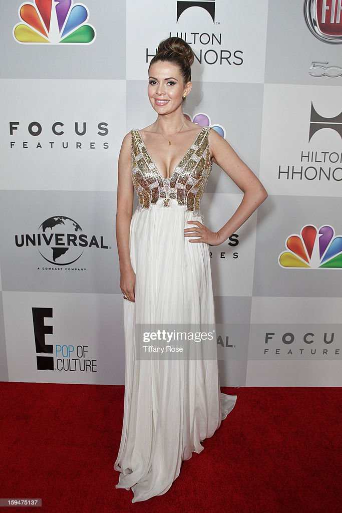 Carly Steel attends the NBC/Universal/Focus Features/E! Networks Golden Globe Awards Celebration Designed And Produced By Angel City Designs at The Beverly Hilton Hotel on January 13, 2013 in Beverly Hills, California.