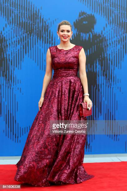Carly Steel attends the The 1st Franca Sozzani Award during the 74th Venice Film Festival at Sala Giardino on September 1 2017 in Venice Italy