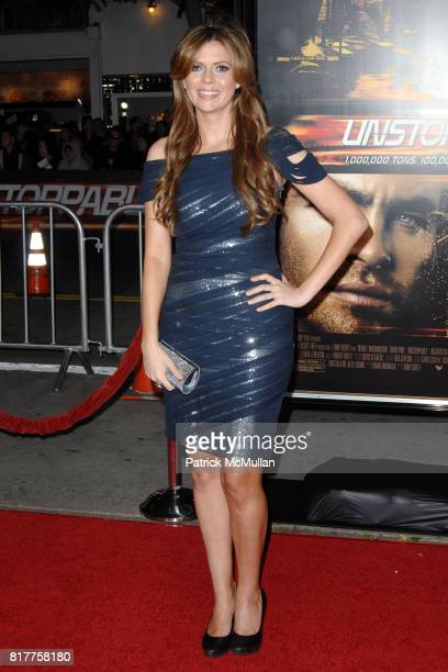 Carly Steel attends UNSTOPPABLE World Premiere at Regency Village Theatre on October 26 2010 in Westwood California
