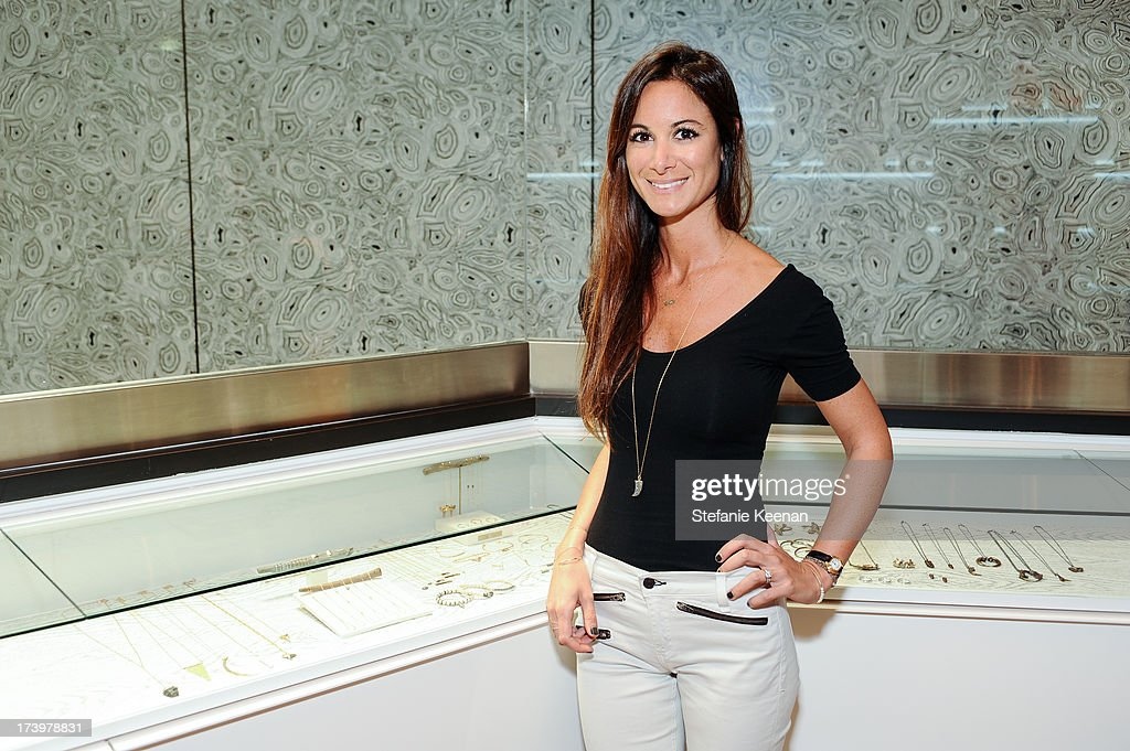 Carma Hamdan attends JewelMint Celebrates The Launch Of Collective And Previews New Collections From Cher Coulter And CC Skye at on July 18, 2013 in Los Angeles, California.