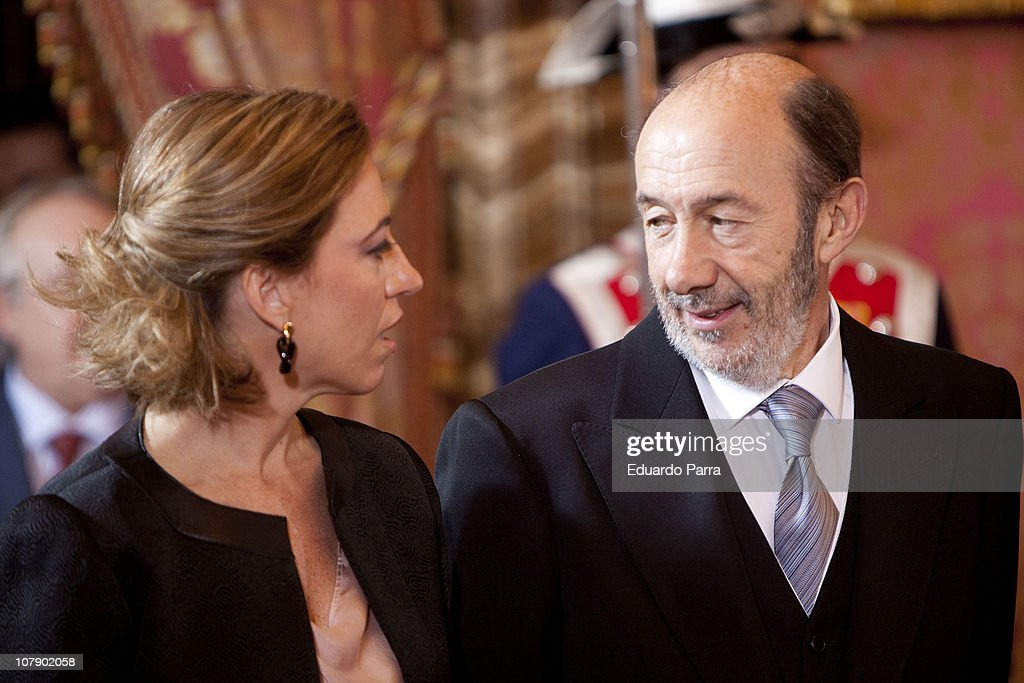 Spanish Royals Celebrate New Year's Military Parade 2011