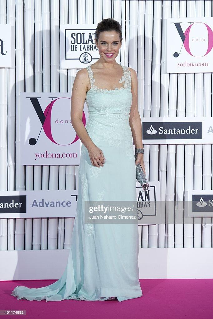 Carme Chaparro attends 'IX International Yo Dona Awards' at Zarzuela Hippodrome on June 24, 2014 in Madrid, Spain.
