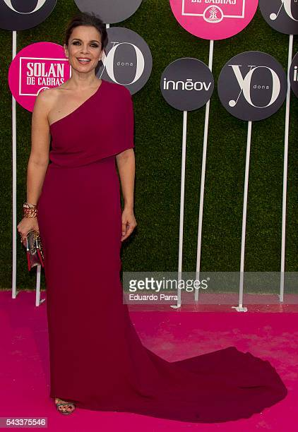 Carme Chaparro attends the 'Yo Dona' international awards at La Quinta de la Munoza on June 27 2016 in Madrid Spain