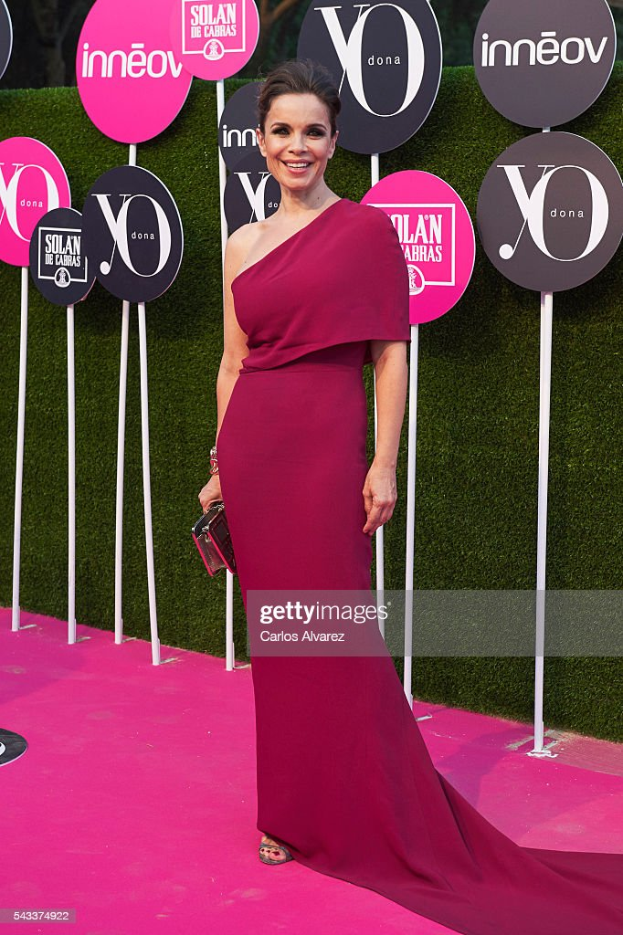 Carme Chaparro attends 'Yo Dona' International awards on June 27, 2016 in Madrid, Spain.