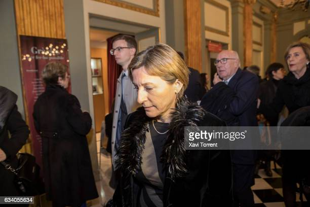 Carme Forcadell attends the Gran Teatre del Liceu 20th Anniversary Celebration on February 6 2017 in Barcelona Spain