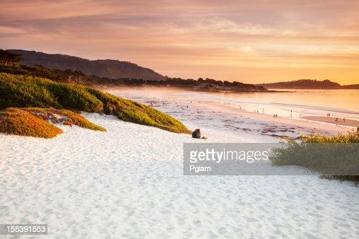 Carmel Beach in Carmel-by-the-Sea