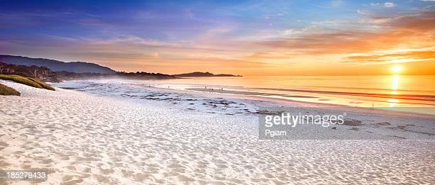 Carmel panorâmica de praia Carmel-by-the-Sea