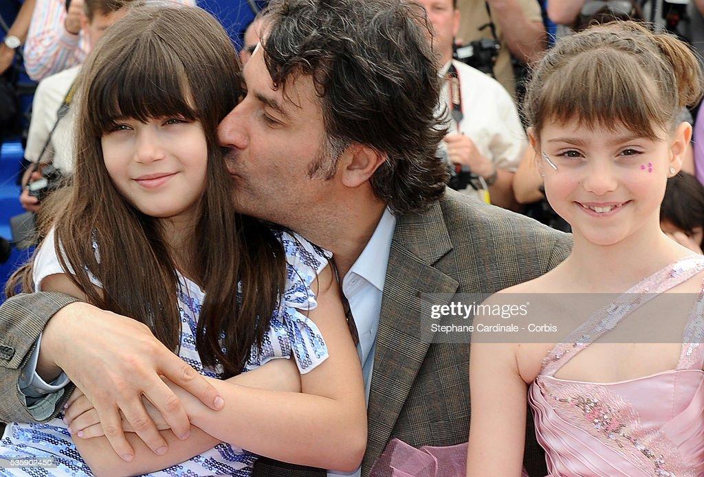 Carmela Culda, Cristi Puiu and Ileana Puiu at the photocall for 'Aurora' during the 63rd Cannes International Film Festival.