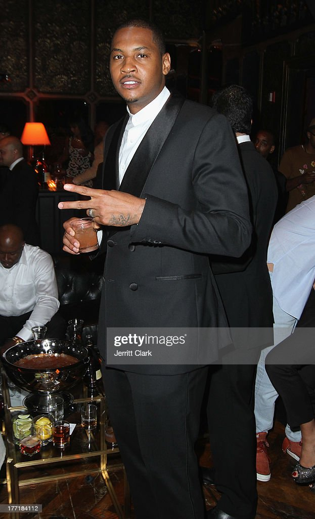 <a gi-track='captionPersonalityLinkClicked' href=/galleries/search?phrase=Carmelo+Anthony&family=editorial&specificpeople=201494 ng-click='$event.stopPropagation()'>Carmelo Anthony</a> attends the 10th Annual Hennessy Privelage Awards honoring <a gi-track='captionPersonalityLinkClicked' href=/galleries/search?phrase=Carmelo+Anthony&family=editorial&specificpeople=201494 ng-click='$event.stopPropagation()'>Carmelo Anthony</a> at The Griffin on August 21, 2013 in New York City.