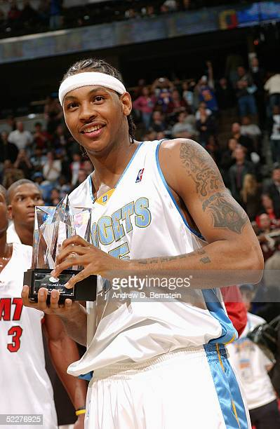 Image result for carmelo anthony rookie