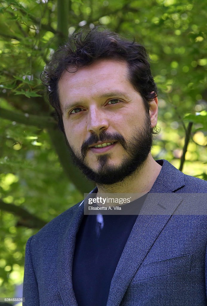 Carmelo Galati attends a photocall for 'Felicia Impastato' RAI TV movie at Viale Mazzini on May 5, 2016 in Rome, Italy.