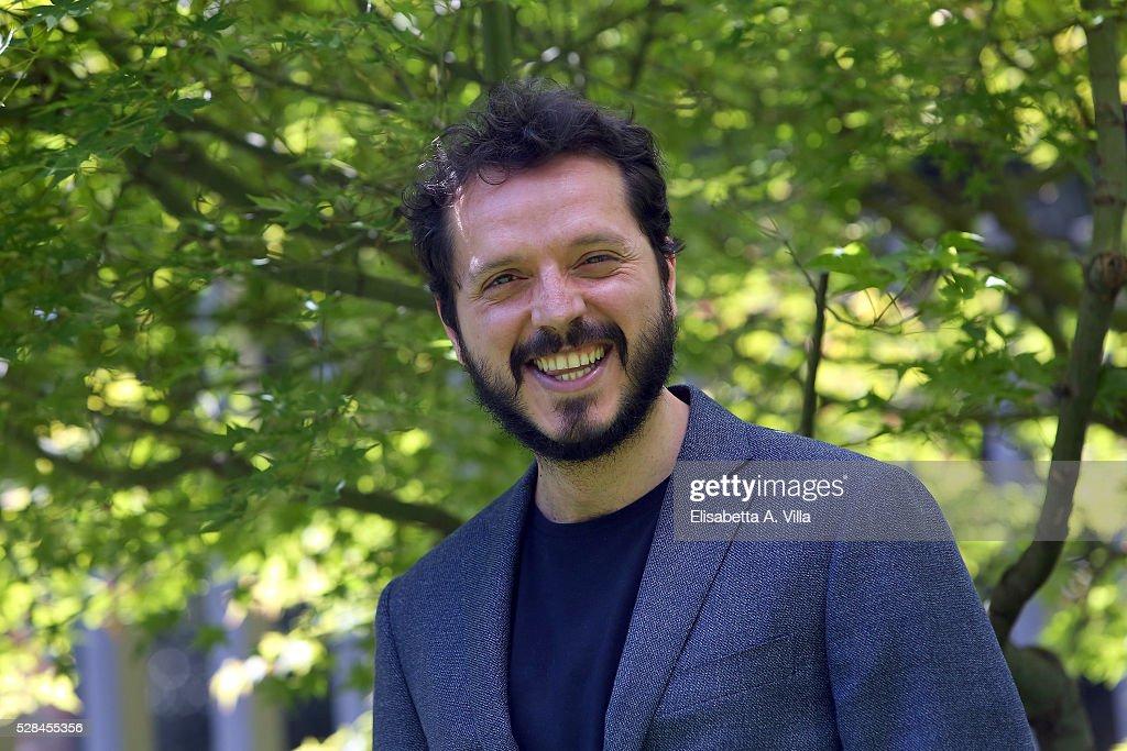 Carmelo Galati attends a photocall for 'Felicia Impastato' RAI TV movie at Viale Mazzini on May 5, 2016 in Rome, Italy.