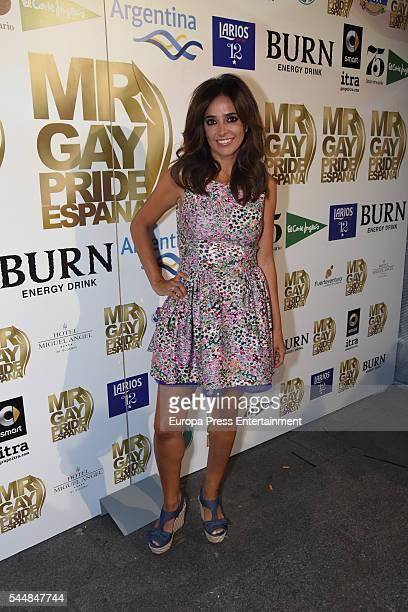 Carmen Alcayde attends 2016 Mister Gay Pride Spain Gala on July 1 2016 in Madrid Spain