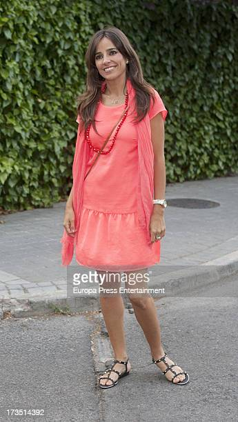 Carmen Alcayde attends Ana Rosa's party on June 27 2013 in Madrid Spain