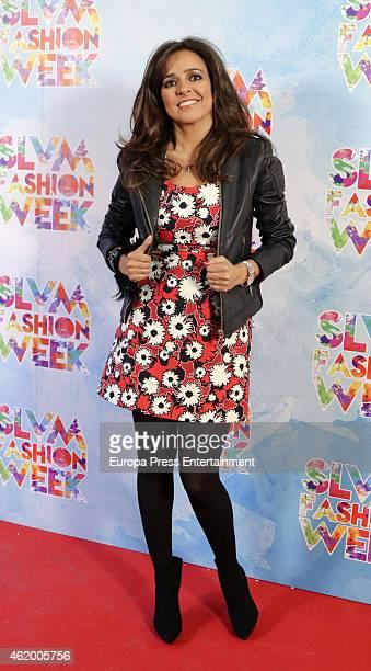 Carmen Alcayde attends 'Salvame Fashion Week' on January 22 2015 in Madrid Spain