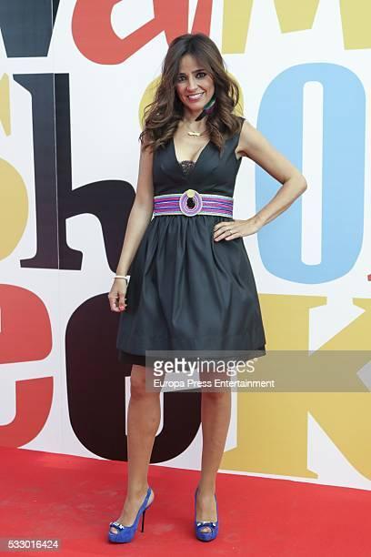 Carmen Alcayde attends 'Salvame Fashion Week' on May 19 2016 in Madrid Spain