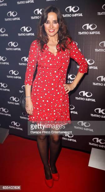 Carmen Alcayde attends the 10th anniversary of 'Fabrica De La Tele' at Kapital club on February 14 2017 in Madrid Spain