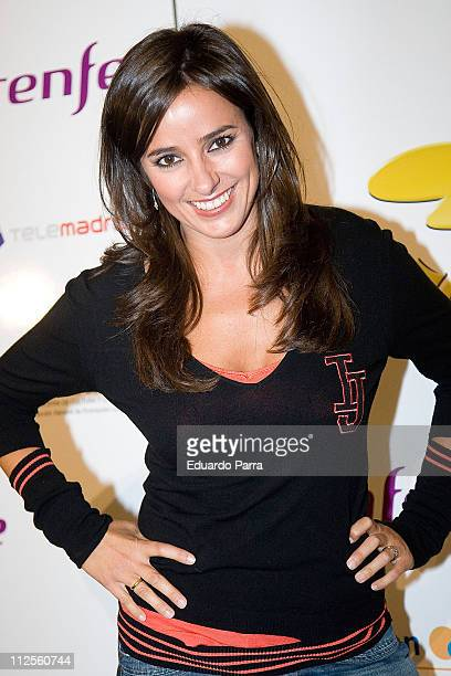 Carmen Alcayde attends the opening of the musical comedy 'Quisiera Ser' October 2 2007 in Madrid Spain