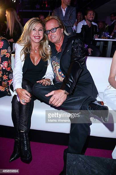 Carmen and Robert Geiss attend the Icons Idols No 3 event to celebrate the 10th anniversary of InTouch magazine on September 24 2015 in Duesseldorf...