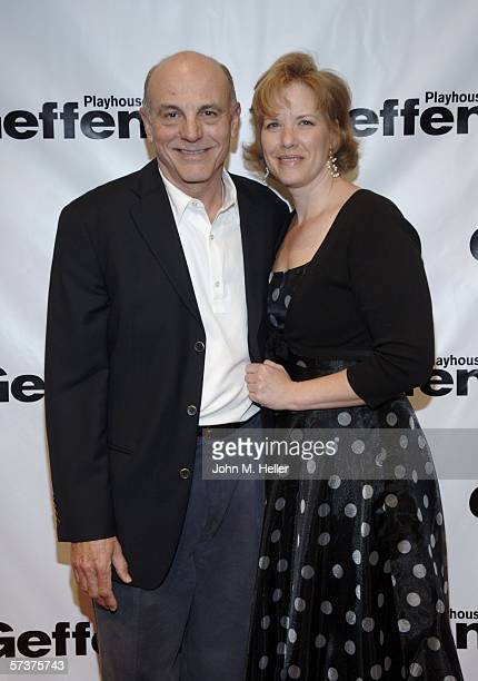 Carmen Argenziano and Jennifer Davis arrive for the Los Angeles opening of Arthur Miller's 'All My Sons' at the Geffen Playhouse on April 19 2006 in...