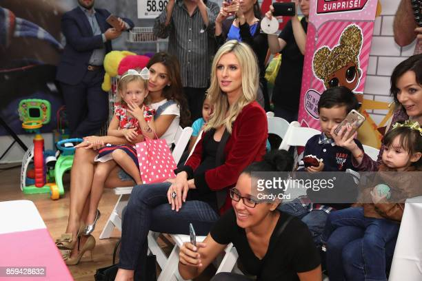 Carmen Balwdin Hilaria Baldwin and Nicky Hilton Rothschild attend the launch of the LOL Surprise Unboxing Video Booth and LOL Surprise Pets hosted by...