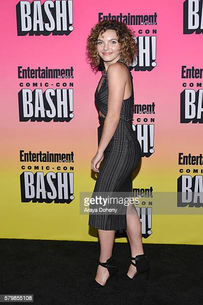 Carmen Bicondova attends Entertainment Weekly's ComicCon Bash held at Float at Hard Rock Hotel San Diego on July 23 2016 in San Diego California