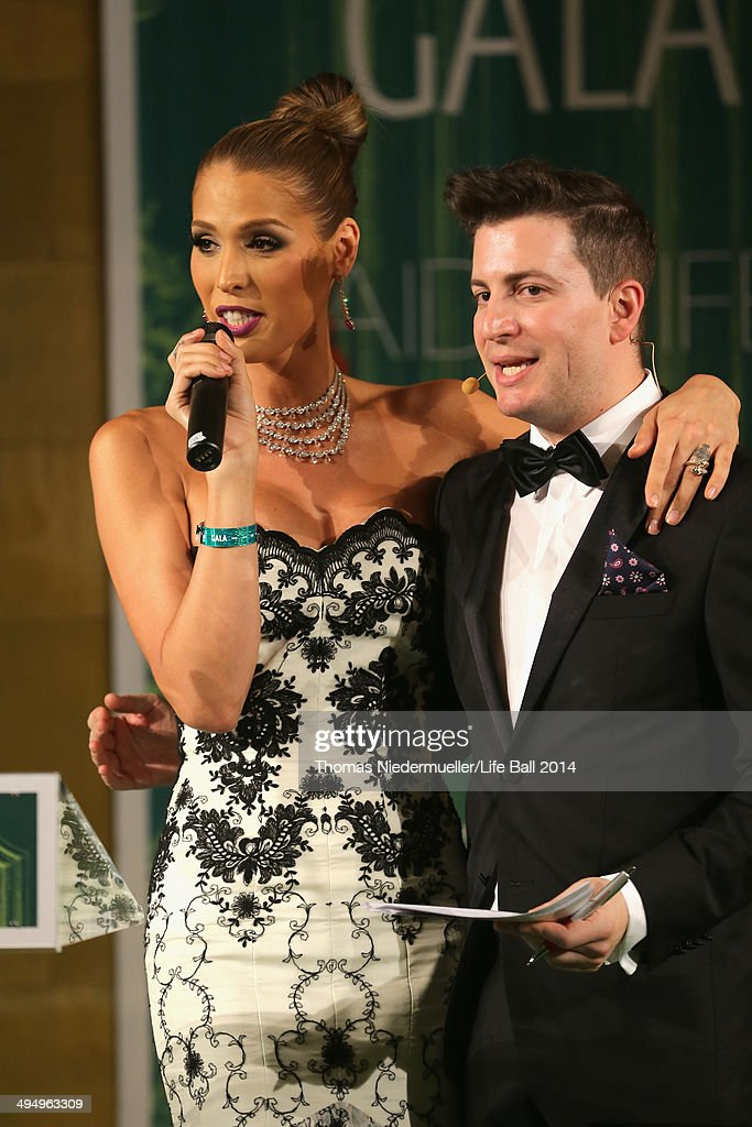 <a gi-track='captionPersonalityLinkClicked' href=/galleries/search?phrase=Carmen+Carrera&family=editorial&specificpeople=7433374 ng-click='$event.stopPropagation()'>Carmen Carrera</a> and Rafael Schwarz attend the AIDS Solidarity Gala 2014 at Hofburg Vienna on May 31, 2014 in Vienna, Austria.