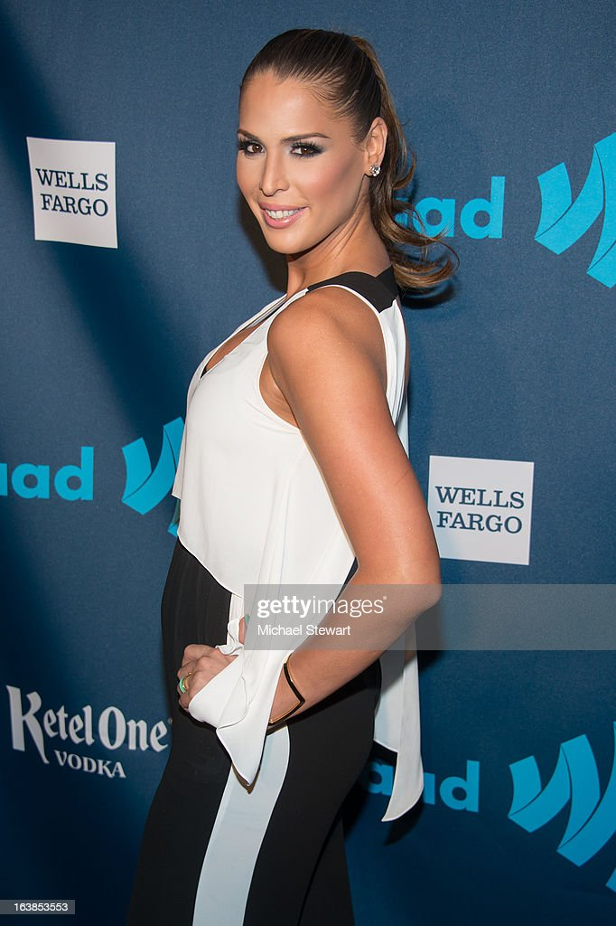 Carmen Carrera attends the 24th annual GLAAD Media awards at The New York Marriott Marquis on March 16, 2013 in New York City.