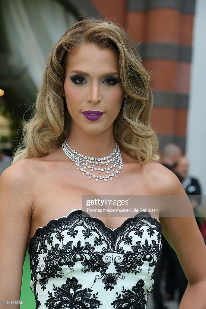<a gi-track='captionPersonalityLinkClicked' href=/galleries/search?phrase=Carmen+Carrera&family=editorial&specificpeople=7433374 ng-click='$event.stopPropagation()'>Carmen Carrera</a> attends the AIDS Solidarity Gala 2014 at Hofburg Vienna on May 31, 2014 in Vienna, Austria.