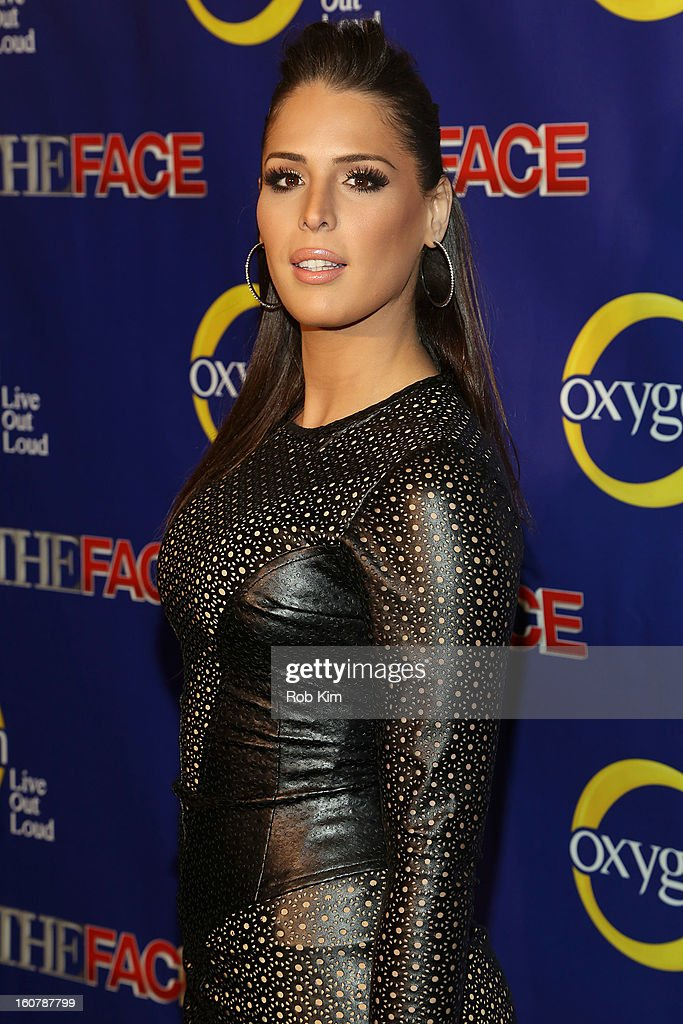 Carmen Carrera attends 'The Face' Series Premiere at Marquee New York on February 5, 2013 in New York City.